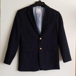 Izod Navy Jacket Blazer Sport Coat Sz 16